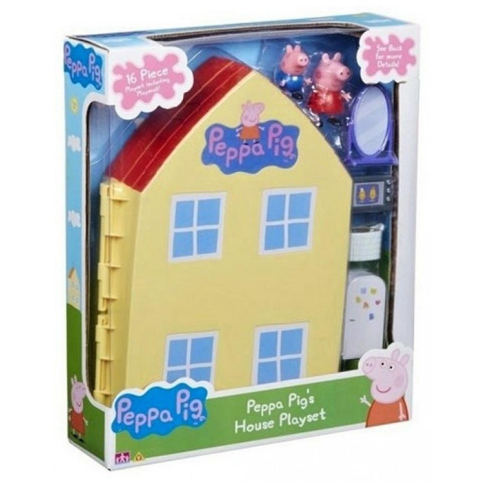 Obrázek 1 produktu Peppa Pig Rozkládací domeček se dvěma figurkami a příslušenstvím