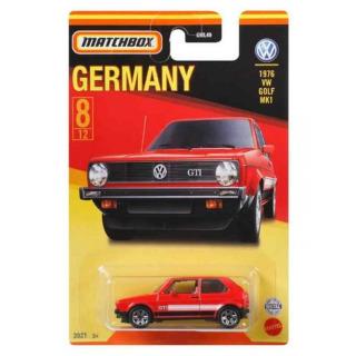 Obrázek 2 produktu Matchbox Nejlepší německé angličáky VW Golf MK1, Mattel GWL51
