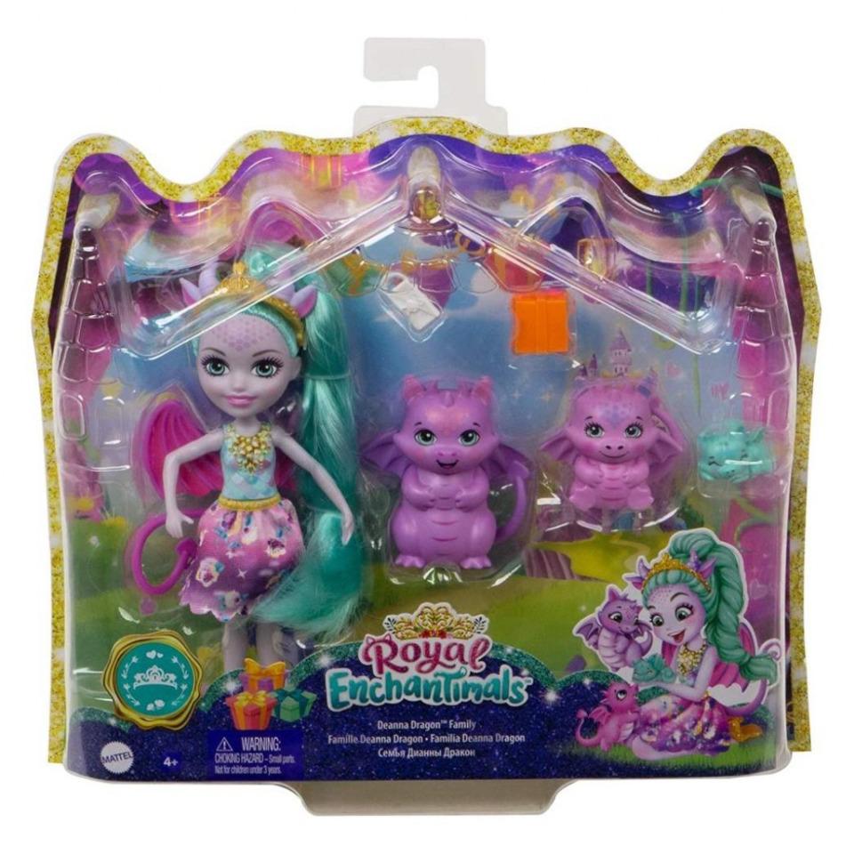 Obrázek 1 produktu ENCHANTIMALS Rodinka Deanna s draky, Mattel GYJ09 / GJX43