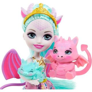 Obrázek 3 produktu ENCHANTIMALS Rodinka Deanna s draky, Mattel GYJ09 / GJX43