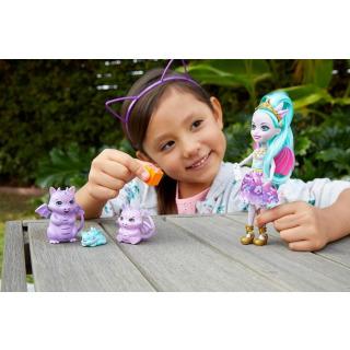 Obrázek 5 produktu ENCHANTIMALS Rodinka Deanna s draky, Mattel GYJ09 / GJX43