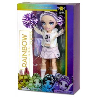 Obrázek 3 produktu MGA Rainbow High Fashion roztleskávačka VIOLET WILLOW