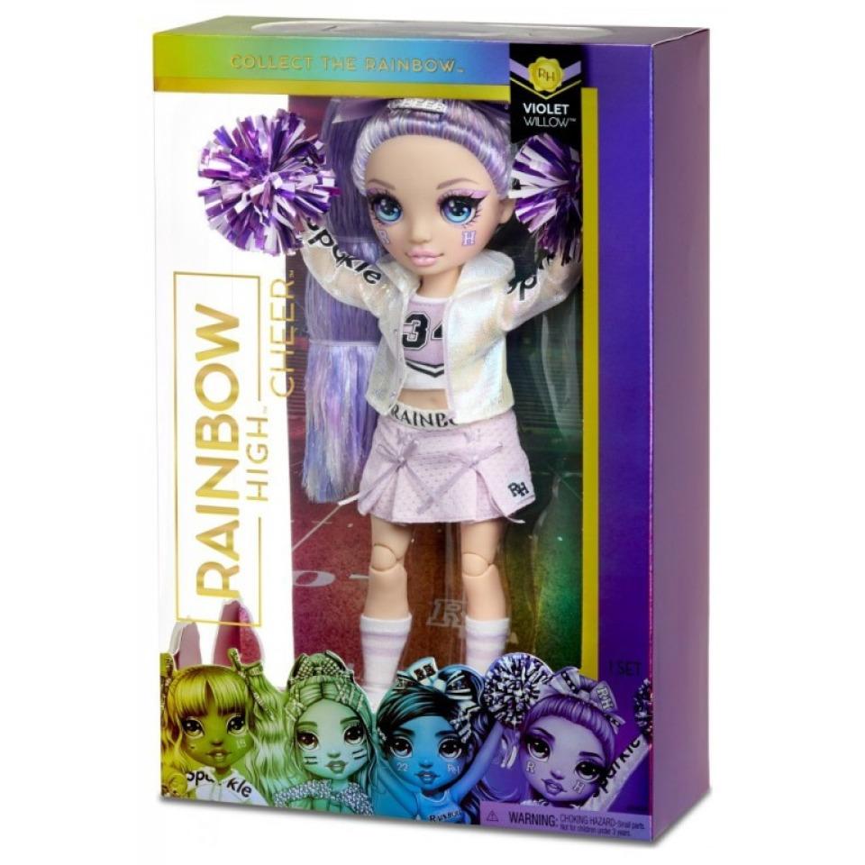 Obrázek 2 produktu MGA Rainbow High Fashion roztleskávačka VIOLET WILLOW
