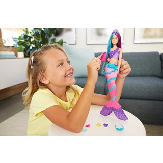 Obrázek 4 produktu Barbie Mořská panna s dlouhými vlasy, Mattel GTF39