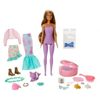 Obrázek 2 produktu Barbie Color reveal Fantasy Mořská panna, Mattel GXV93