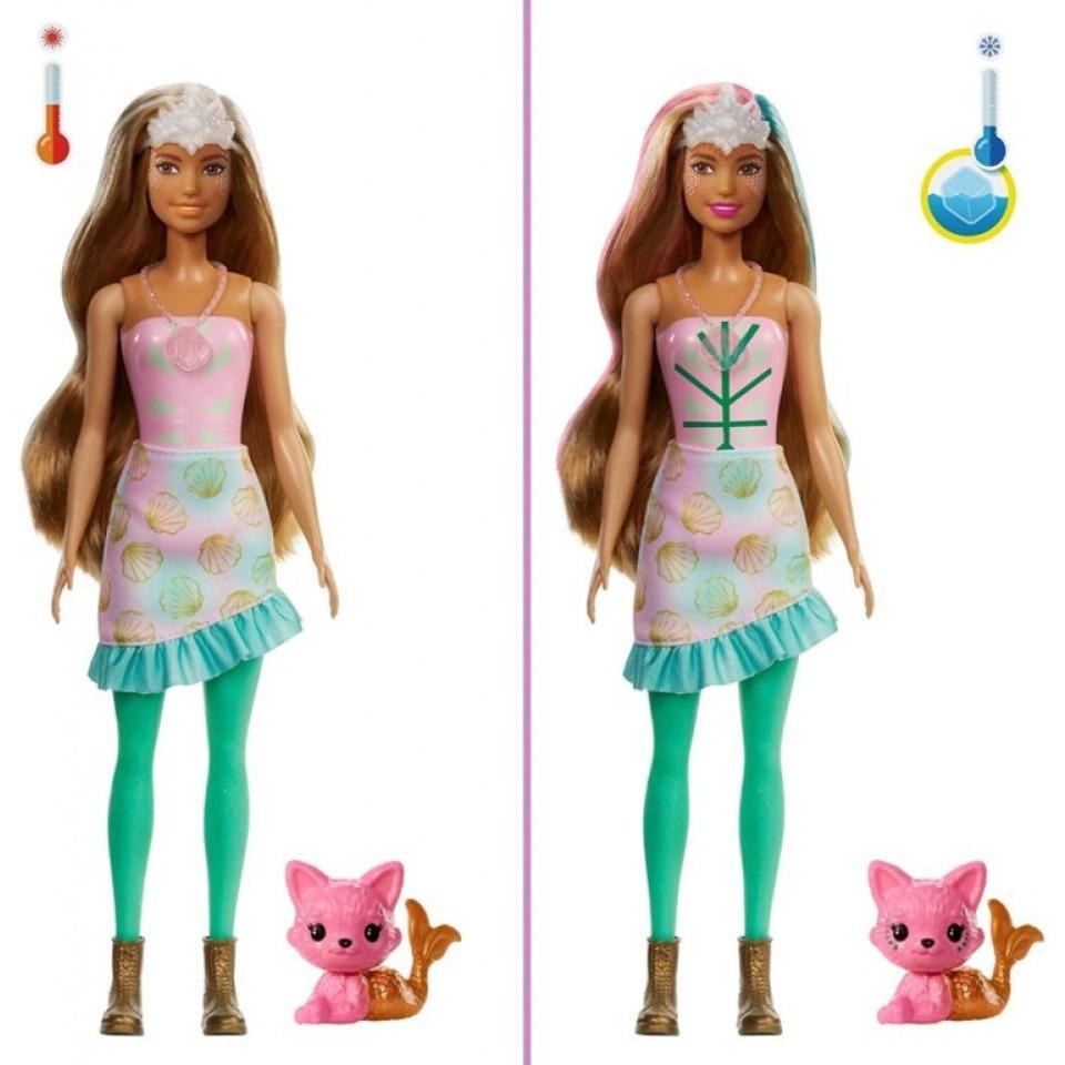 Obrázek 3 produktu Barbie Color reveal Fantasy Mořská panna, Mattel GXV93