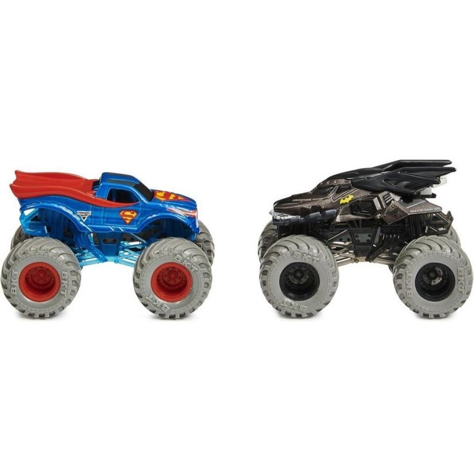 Obrázek 1 produktu Spin Master Monster Jam Sběratelské dvoubalení Batman vs. Superman