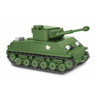 Obrázek 2 produktu COBI 2705 World War II Americký tank Sherman M4A3E8