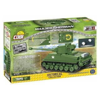 Obrázek 3 produktu COBI 2705 World War II Americký tank Sherman M4A3E8