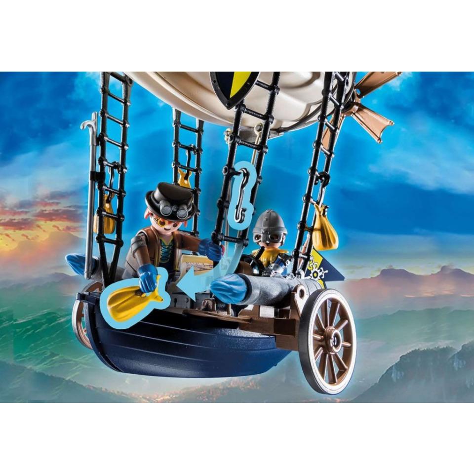 Obrázek 2 produktu Playmobil 70642 Novelmore Dariova vzducholoď