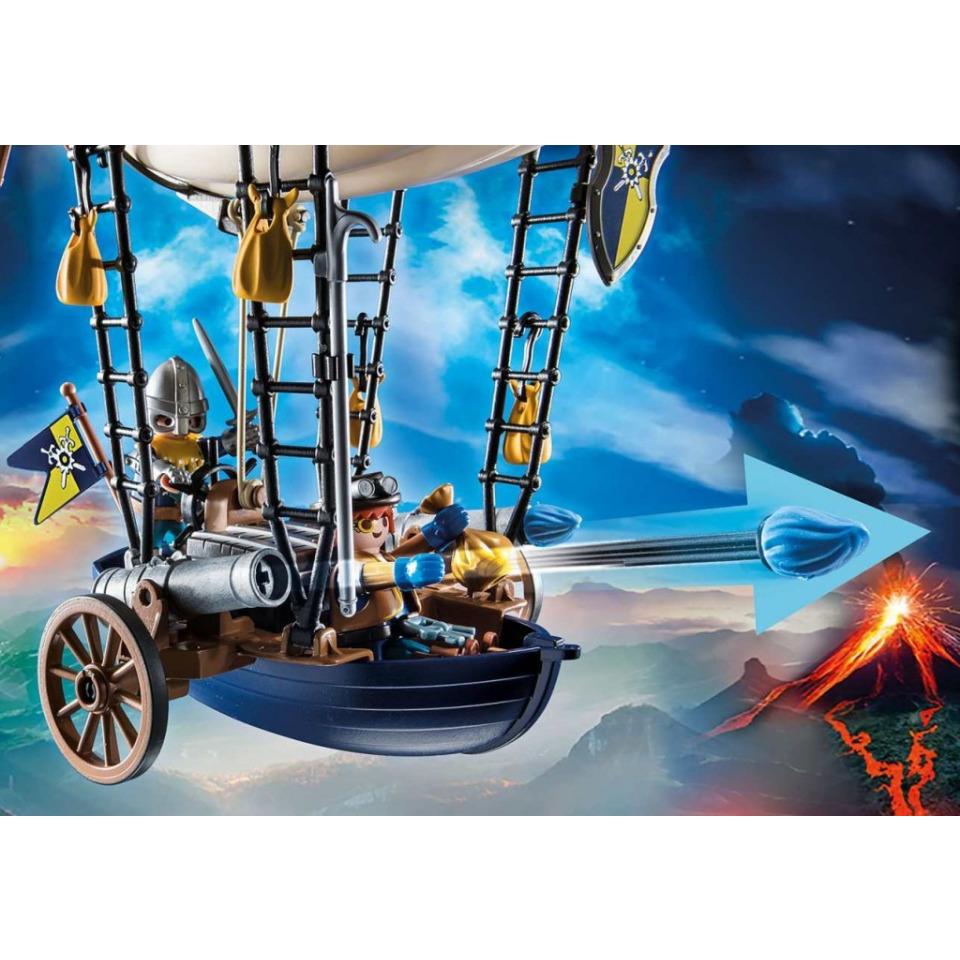 Obrázek 3 produktu Playmobil 70642 Novelmore Dariova vzducholoď