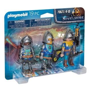 Obrázek 2 produktu Playmobil 70671 Trojice rytířů z Novelmore