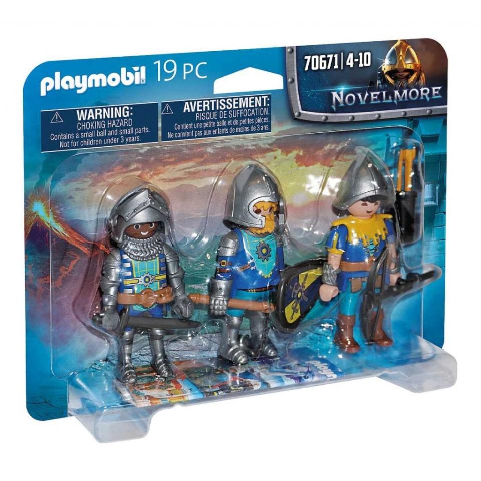 Obrázek 1 produktu Playmobil 70671 Trojice rytířů z Novelmore