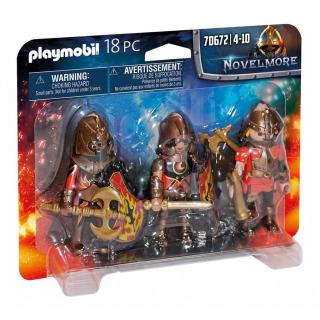 Obrázek 2 produktu Playmobil 70672 Trojice Burnhamských nájezdníků