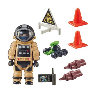 Obrázek 2 produktu Playmobil 70600 Policista pyrotechnik