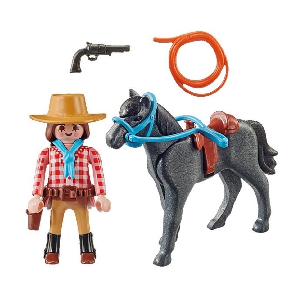 Obrázek 1 produktu Playmobil 70602 Rodeo jezdkyně