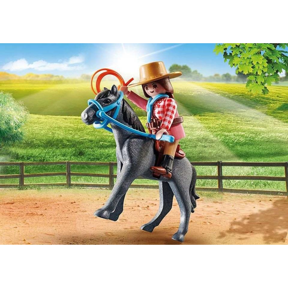 Obrázek 2 produktu Playmobil 70602 Rodeo jezdkyně