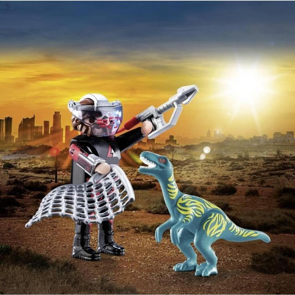 Obrázek 1 produktu Playmobil 70693 DuoPack Velociraptor a Lovec
