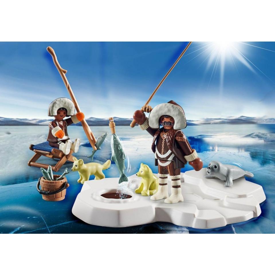 Obrázek 2 produktu Playmobil 70606 Dárkový set: Eskymáci při lovu ryb