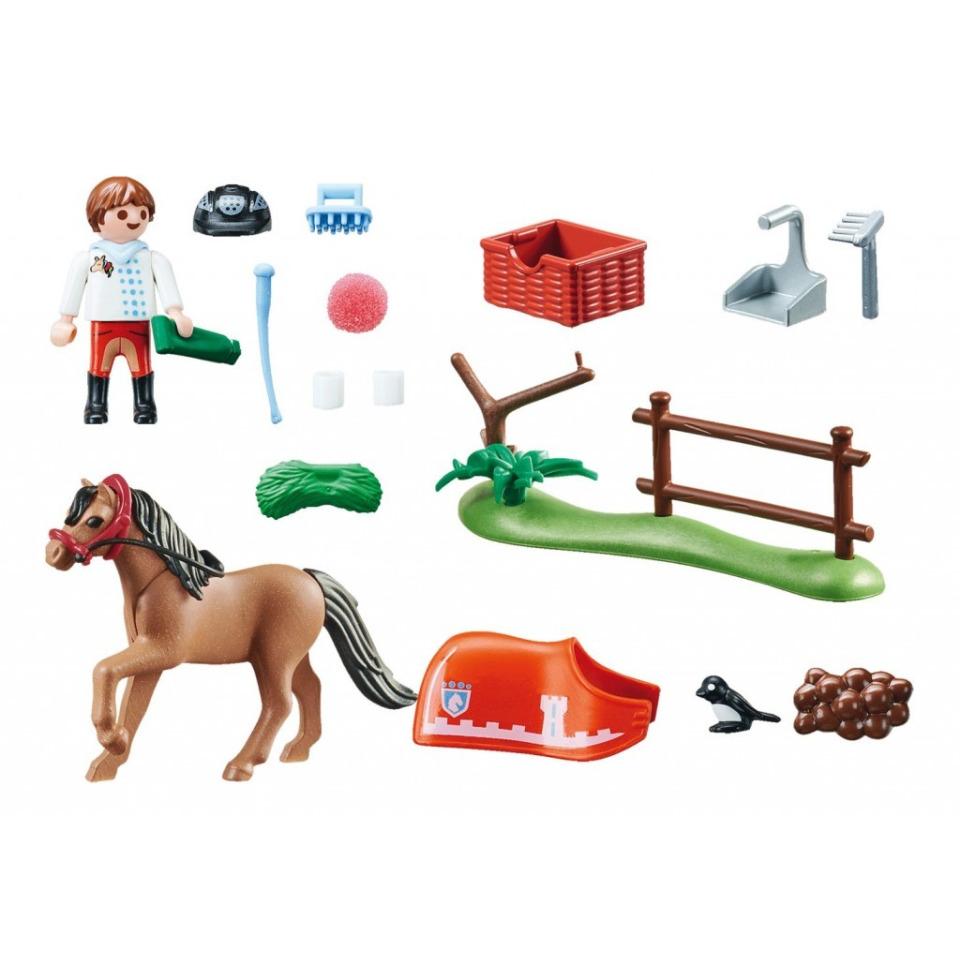 Obrázek 1 produktu Playmobil 70516 Poník Connemara