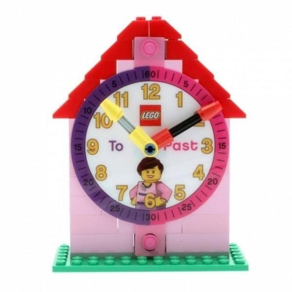 Obrázek 2 produktu LEGO Time Teacher výuková stavebnice hodin + hodinky růžové (poškozený obal)