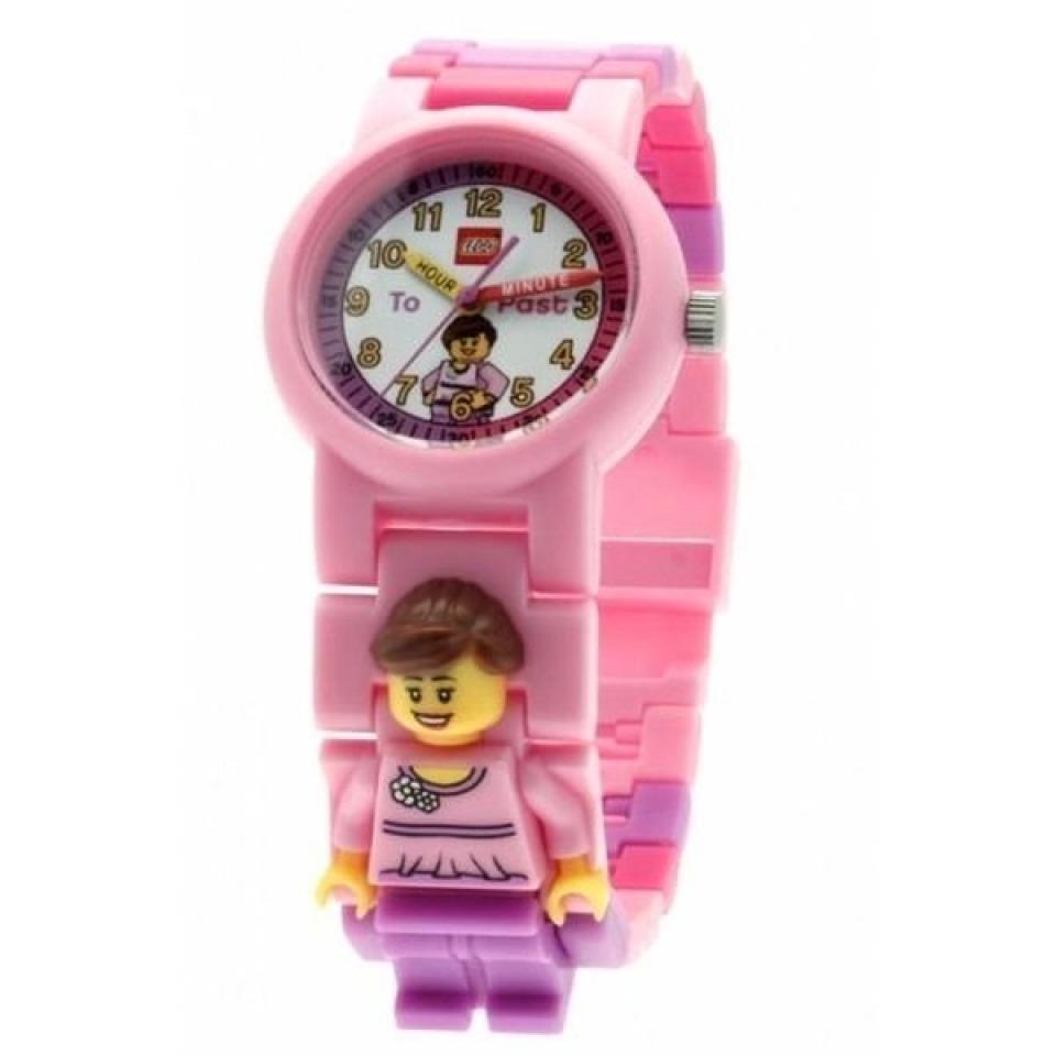 Obrázek 3 produktu LEGO Time Teacher výuková stavebnice hodin + hodinky růžové (poškozený obal)