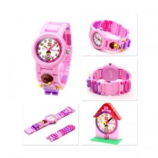 Obrázek 5 produktu LEGO Time Teacher výuková stavebnice hodin + hodinky růžové (poškozený obal)