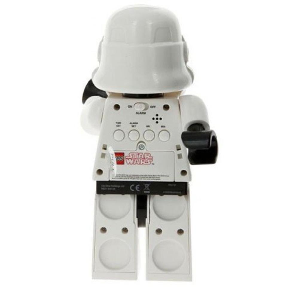 Obrázek 3 produktu LEGO Star Wars Stormtrooper hodiny s budíkem (poškozený obal)