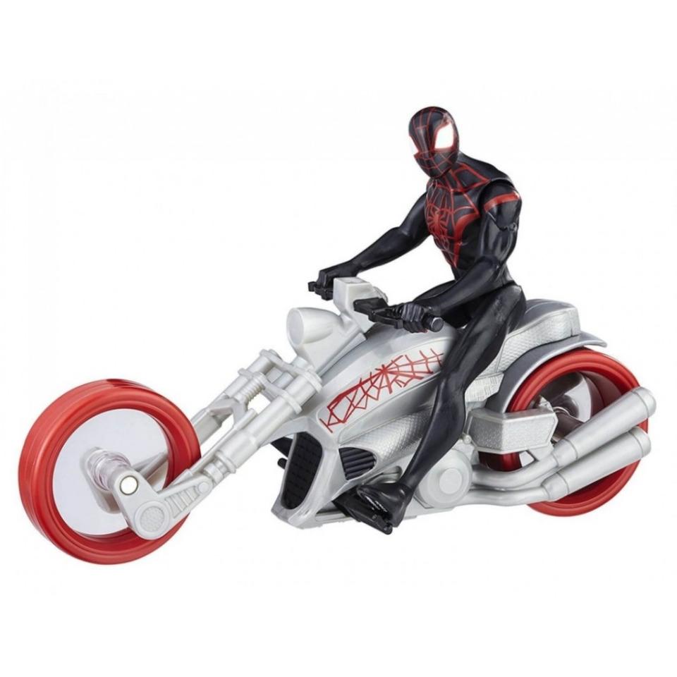 Obrázek 1 produktu Spiderman figurka na motorce Kid Arachnid, Hasbro B9999