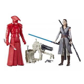 Obrázek 2 produktu Star Wars episoda 8 Force Link 9,5cm figurky s doplňky Rey a Elite Praetorian Guard