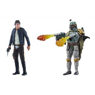 Obrázek 2 produktu Star Wars episoda 8 Force Link 9,5cm figurky s doplňky Han Solo a Boba Fett