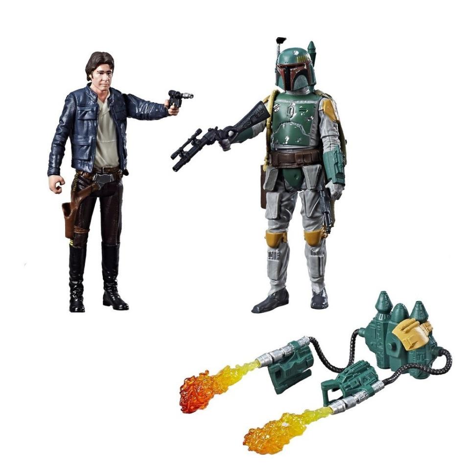 Obrázek 3 produktu Star Wars episoda 8 Force Link 9,5cm figurky s doplňky Han Solo a Boba Fett