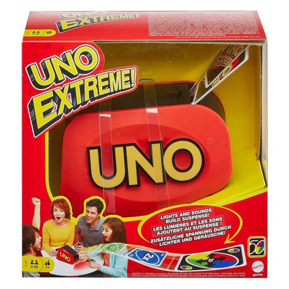 Obrázek 4 produktu Mattel UNO EXTREME!, GXY75