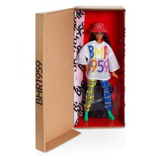 Obrázek 5 produktu Barbie Sběratelská BMR1959 V červeném klobouku módní DeLuxe, Mattel GNC48