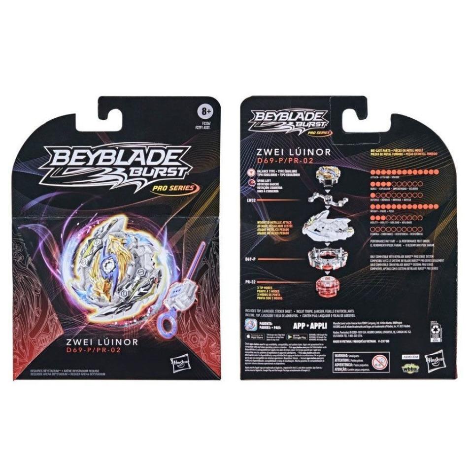Obrázek 2 produktu BeyBlade Burst Pro kotouč ZWEI LÚNIOR, Hasbro F2336