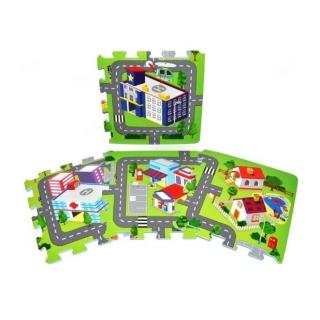 Obrázek 3 produktu Pěnové puzzle Město 9ks 32x32 cm
