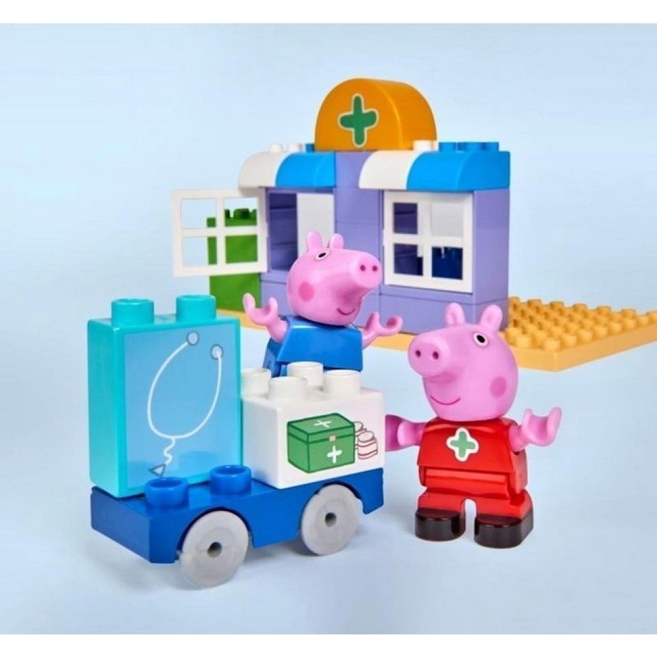 Obrázek 2 produktu PlayBIG Bloxx, Peppa Pig Nemocnice sada v kufříku