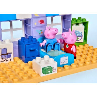 Obrázek 4 produktu PlayBIG Bloxx, Peppa Pig Nemocnice sada v kufříku