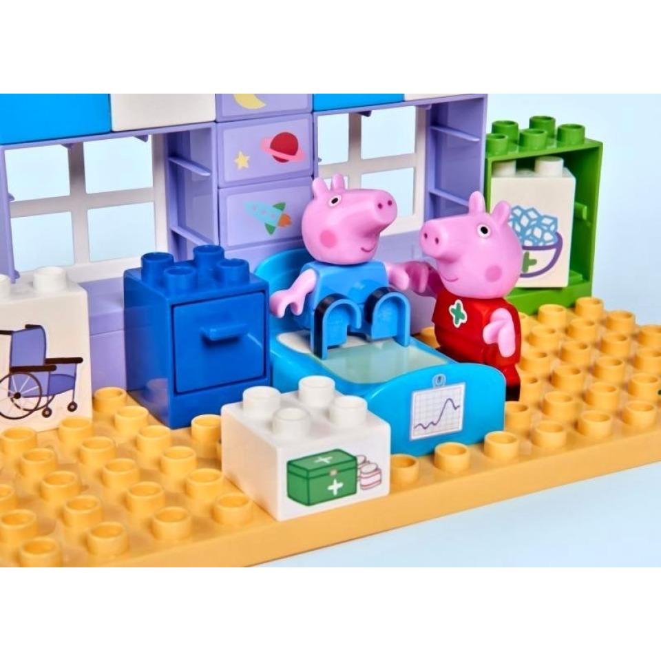 Obrázek 3 produktu PlayBIG Bloxx, Peppa Pig Nemocnice sada v kufříku