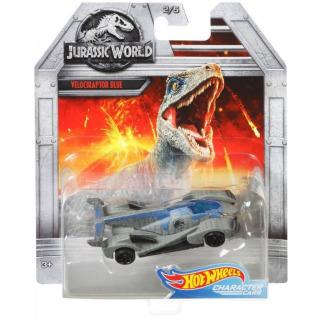 Obrázek 2 produktu Hot Wheels Jurský svět VELOCIRAPTOR BLUE, Mattel FLJ06