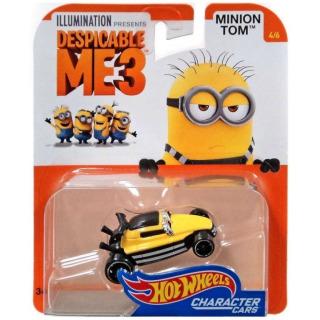 Obrázek 2 produktu Hot Wheels Mimoni TOM, Mattel DXT19