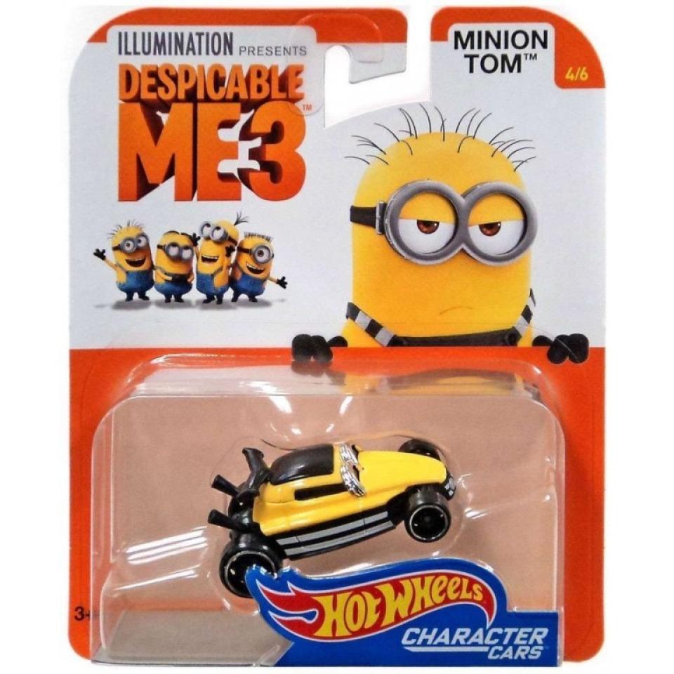Obrázek 1 produktu Hot Wheels Mimoni TOM, Mattel DXT19