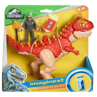 Obrázek 2 produktu Fisher Price Imaginext CARNOTAURUS a DR. MALCOLM, Mattel GBN16