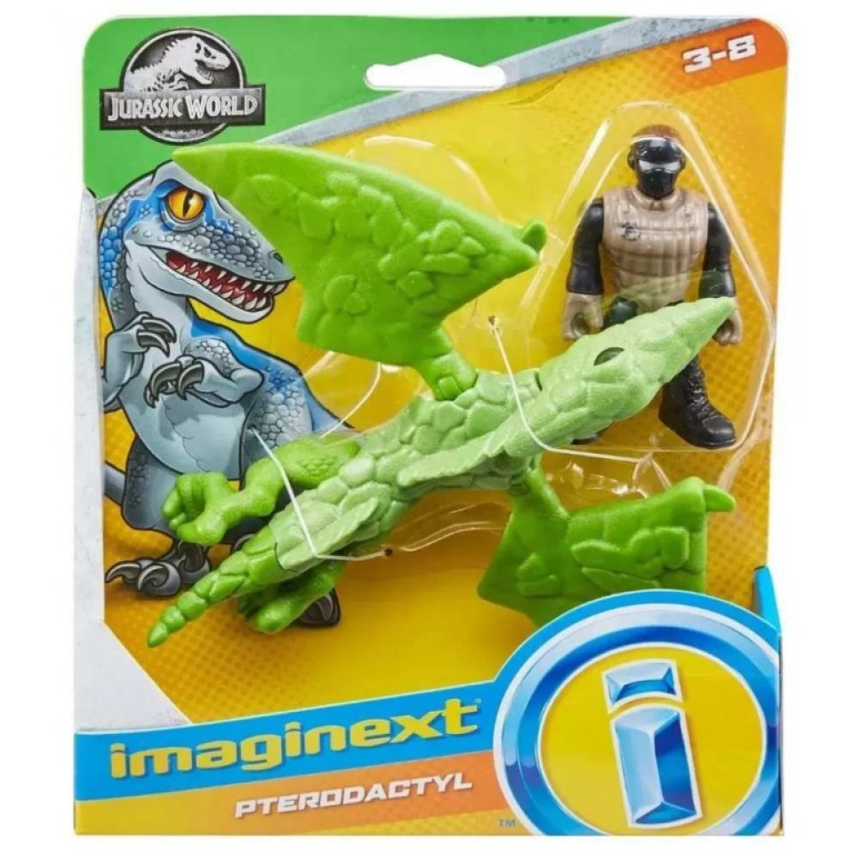 Obrázek 1 produktu Fisher Price Imaginext PTERODACTYL s figurkou, Mattel FXT33