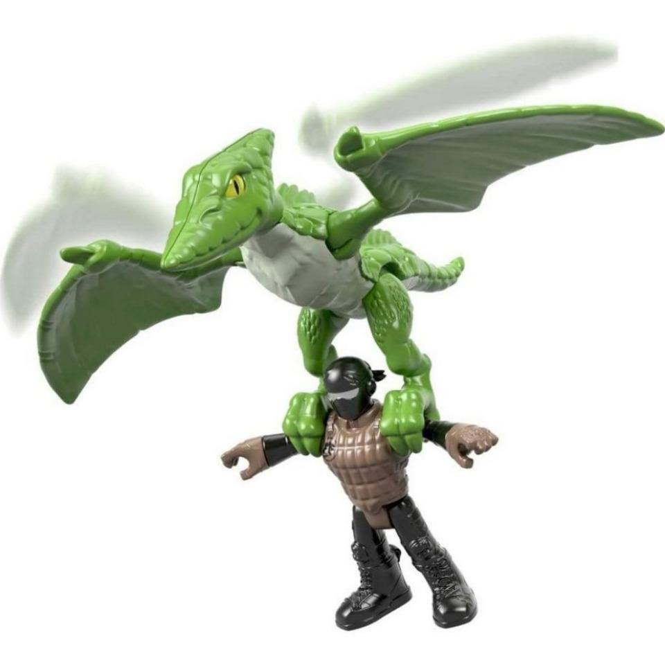 Obrázek 2 produktu Fisher Price Imaginext PTERODACTYL s figurkou, Mattel FXT33