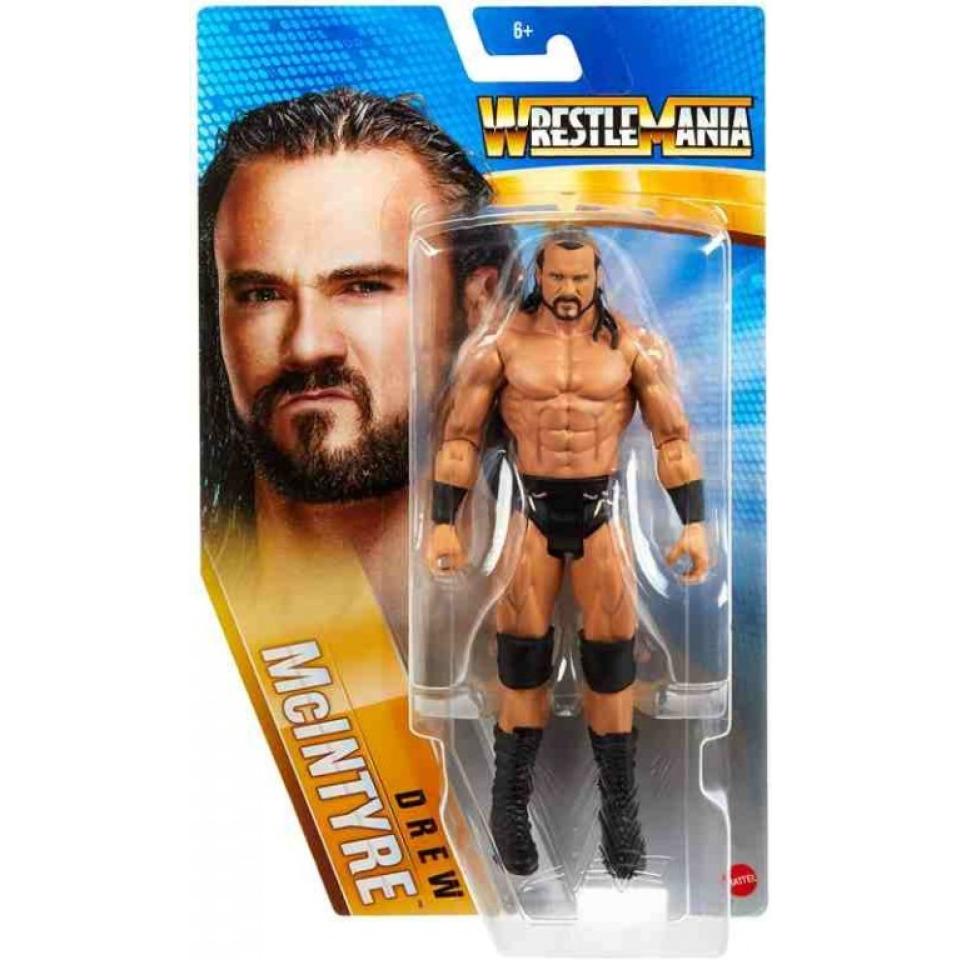 Obrázek 4 produktu WWE WrestleMania DREW McINTYRE 17,5 cm, Mattel GVJ76