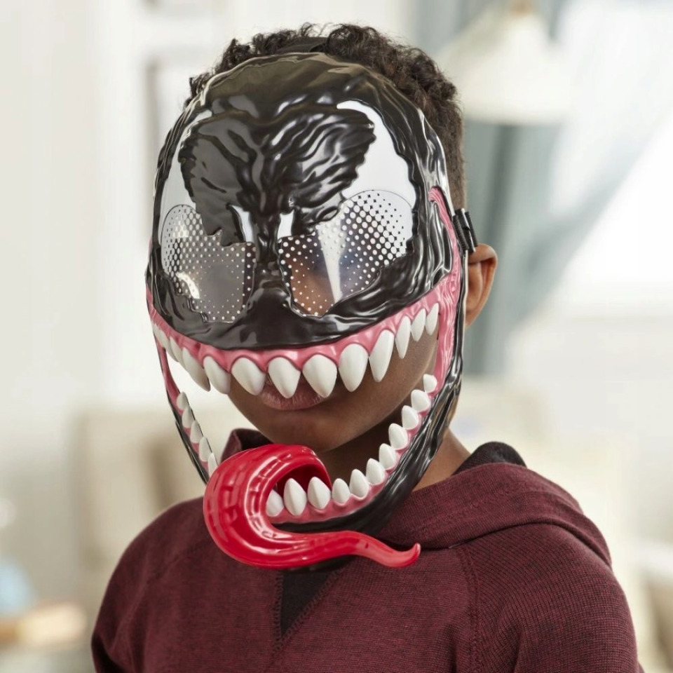 Obrázek 1 produktu Spiderman Maximum Venom Maska, Hasbro E8689