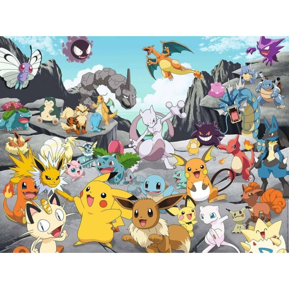 Obrázek 1 produktu Ravensburger 16784 Puzzle Pokémon 1500 dílků