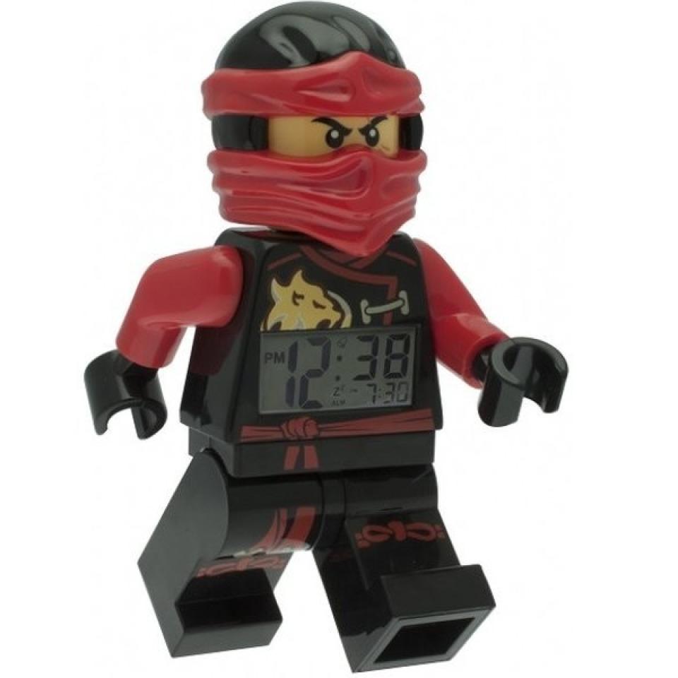 Obrázek 1 produktu LEGO Ninjago Sky Pirates hodiny s budíkem Kai (poškozený oabl)