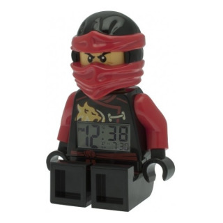 Obrázek 3 produktu LEGO Ninjago Sky Pirates hodiny s budíkem Kai (poškozený oabl)